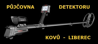 půjčovna detektoru kovů Liberec