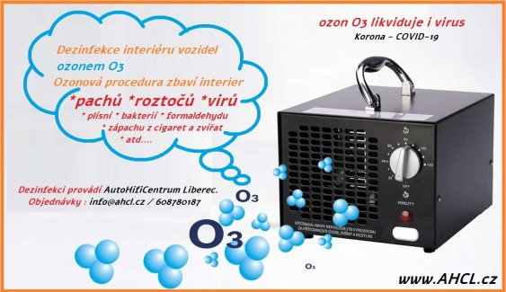 čištění ozonem