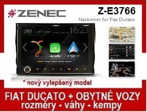Fiat Ducato obytné vozidlo Zenec Z-E3766